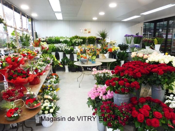 Fleurs coupées Vitry en Artois