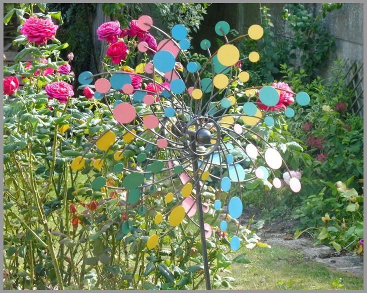 Éolienne de jardin