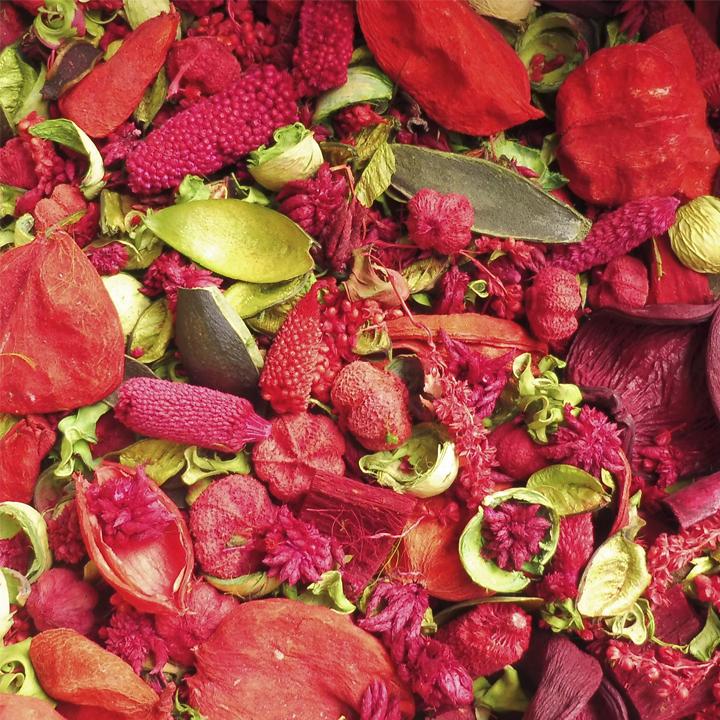 Pot pourri Rouge et vert