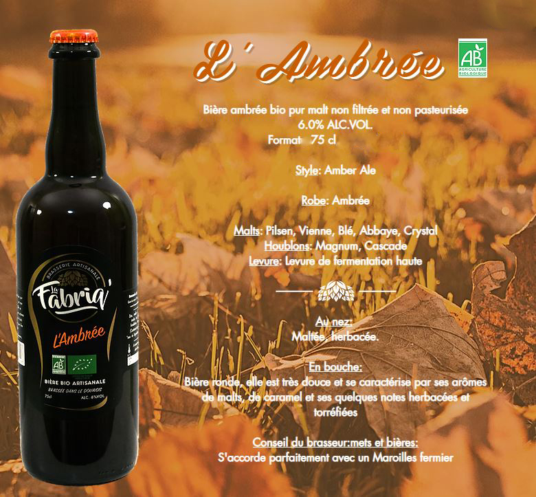 Fabriq' Bière Ambrée