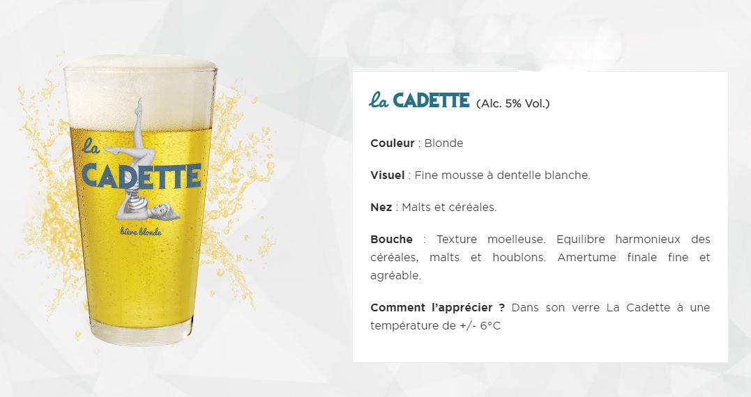 Bière La Cadette